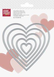 KnorrPrandell Snijmallen Stitches Hart (2118560153)