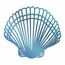 Couture Creations Hot Foil Stamp Seashell (CO726176)
