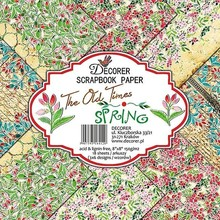 Decorer The Old Times Spring , 8x8 Inch Paper Pack (B11-412)