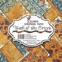Decorer Touch of the Orient , 8x8 Inch Paper Pack (B1-401)