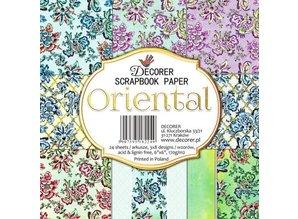 Decorer Oriental 6x6 Inch Paper Pack (C22-224)