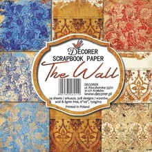Decorer The Wall 6x6 Inch Paper Pack (C8-211)
