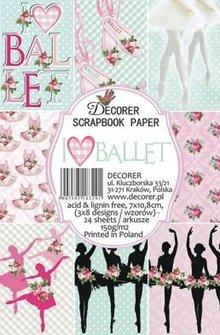 Decorer Ballet Paper Pack (7x10,8cm) (M33)