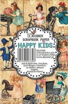Decorer Happy Kids Paper Pack (7x10,8cm) (M34)