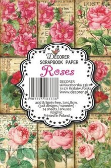 Decorer Roses Paper Pack (7x10,8cm) (M37)