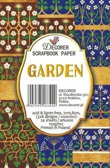 Decorer Garden Paper Pack (7x10,8cm) (M43)