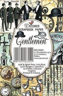 Decorer Gentlemen Paper Pack (7x10,8cm) (M47)