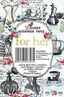Decorer For Her Paper Pack (7x10,8cm) (M56)