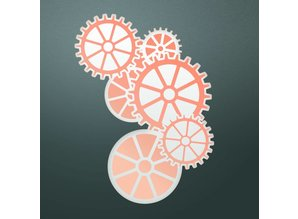 Couture Creations Clockwork Cut, Foil & Emboss Die (CO725843)