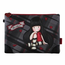 Gorjuss Tartan Accessory Pouch The Collector (849GJ01)