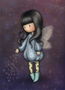 Gorjuss Bubble Fairy Greeting Card (ES336)