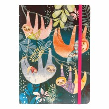 Santoro Sloths A5 Notebook (710EC03)