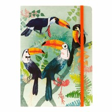 Santoro Toucans A5 Notebook (710EC04)