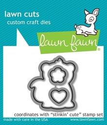 Lawn Fawn Stinkin' Cute Dies (LF1023)