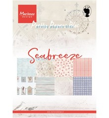 Marianne Design Seabreeze A5 Pretty Papers Bloc (PK9156)
