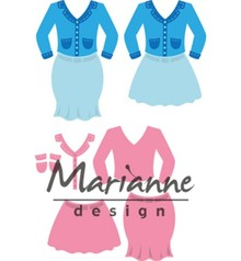 Marianne Design Collectable Lady's Suit (COL1453)