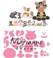 Marianne Design Collectable Eline's Kitten (COL1454)