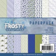 Precious Marieke Frosty Ornaments 6x6 Inch Paper Pack (JAPP10006)