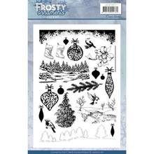 Jeanine's Art Frosty Ornaments Clear Stamp Set (JACS10017)