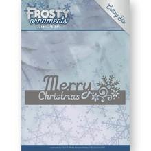 Jeanine's Art Frosty Ornaments Merry Christmas Die (JAD10045)