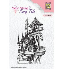 Nellie Snellen Fairy Castle Summer Clear Stamps (FTCS010)