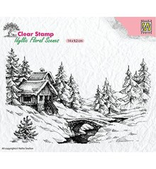 Nellie Snellen Winter Scene 1 Clear Stamps (IFS009)