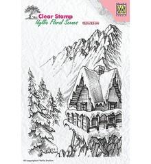 Nellie Snellen Winter Scene 2 Clear Stamps (IFS010)