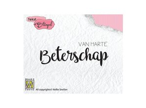 Nellie Snellen Van Harte Beterschap Clear Stamps (DTCS020)