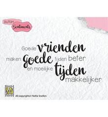 Nellie Snellen Vrienden Clear Stamps (SENC006)