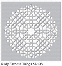 My Favorite Things Moroccan Mosaic Stencil (ST-108)