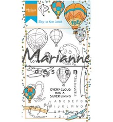 Marianne Design Hetty's Sky Is The limit Clear Stamps (HT1634)