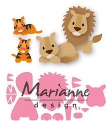 Marianne Design Collectable Eline's Lion Tiger (COL1455)