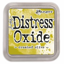 Ranger Distress Oxide Ink Pad Crushed Olive (TDO55907)