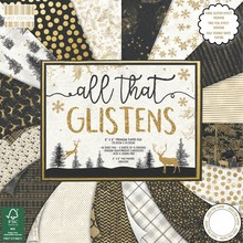 First Edition All That Glistens 8x8 Inch Paper Pad (FEPAD177X18)