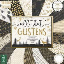 First Edition All That Glistens 6x6 Inch Paper Pad (FEPAD178X18)