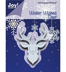 Joy!Crafts Cutting & Embossing Winter Wishes Deer (6002/1018)