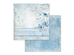 Stamperia Blue Land 12x12 Inch Paper Pack (SBBL47)