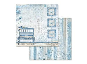 Stamperia Blue Land 12x12 Inch Paper Pack (SBBL47)