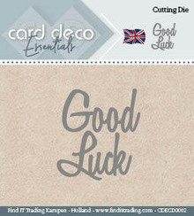 Card Deco Snijmal Good Luck (CDECD0002)