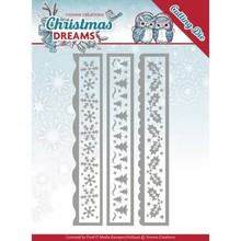 Yvonne Creations Christmas Dreams Christmas Borders Cutting Die (YCD10141)