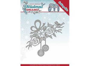 Yvonne Creations Christmas Dreams Bauble Ornament Cutting Die (YCD10146)