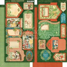Graphic 45 Christmas Magic Tags & Pockets (4501738)