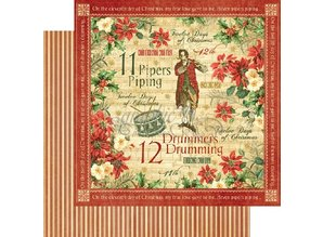 Graphic 45 12 Days Of Christmas 12x12 Inch Deluxe Collector's Edition (4501741)
