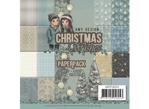 Amy Design Christmas Wishes 6x6 Inch Paper Pack (ADPP10023)