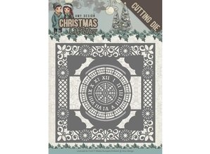 Amy Design Christmas Wishes Twelve O'clock Frame Die (ADD10148)
