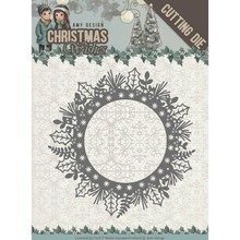 Amy Design Christmas Wishes Holly Wreath Die (ADD10149)