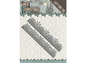 Amy Design Christmas Wishes Snowflake Borders Die (ADD10150)