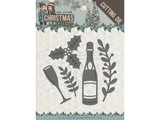 Amy Design Christmas Wishes Champagne Die (ADD10152)