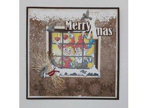 By Lene Metal Dies Christmas Sheaf (BLD1110)