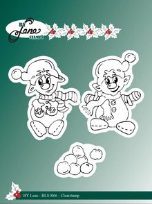 By Lene Clear Stamps Elves (BLS1066)